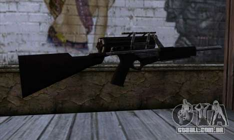 Calico M951S from Warface v2 para GTA San Andreas segunda tela