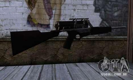 Calico M951S from Warface v2 para GTA San Andreas segunda tela