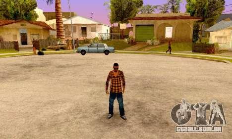 Los Santos Vagos para GTA San Andreas quinto tela