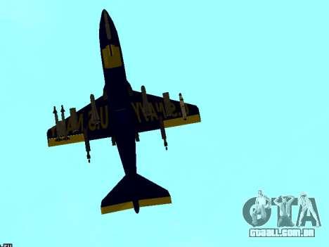 BlueAngels Hydra para GTA San Andreas vista direita
