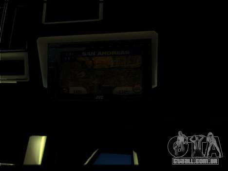 Novo Picador para GTA San Andreas vista superior