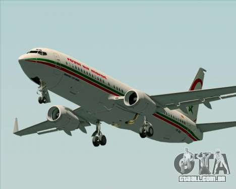 Boeing 737-8B6 Royal Air Maroc (RAM) para o motor de GTA San Andreas