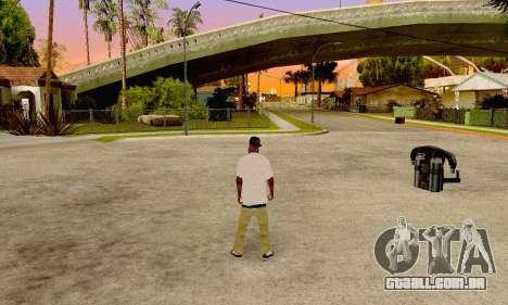 The Ballas Gang Skin Pack para GTA San Andreas segunda tela