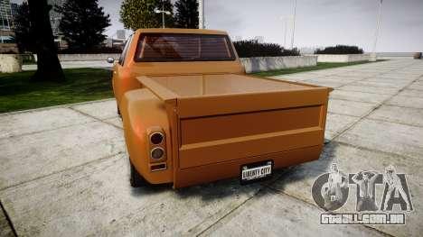 Vapid Bobcat Badass extended para GTA 4 traseira esquerda vista