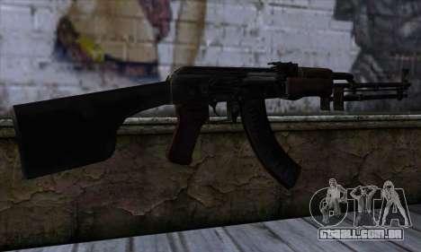 AK47 from State of Decay para GTA San Andreas segunda tela