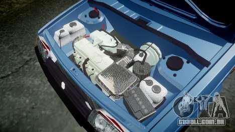 UTILIZANDO-Lada 2109 1500i para GTA 4 vista interior