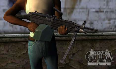 M249 v1 para GTA San Andreas terceira tela