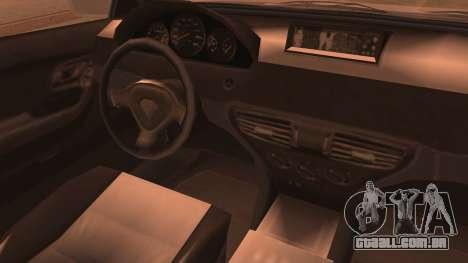 GTA 5 Ubermacht Sport IVF para GTA San Andreas traseira esquerda vista