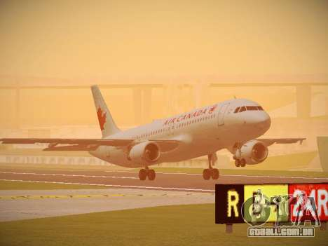 Airbus A320-214 Air Canada para GTA San Andreas