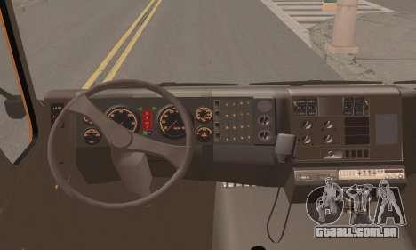 Roman Garbage para GTA San Andreas traseira esquerda vista