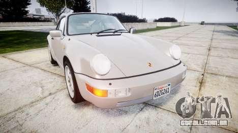 Porsche 911 (964) Coupe para GTA 4