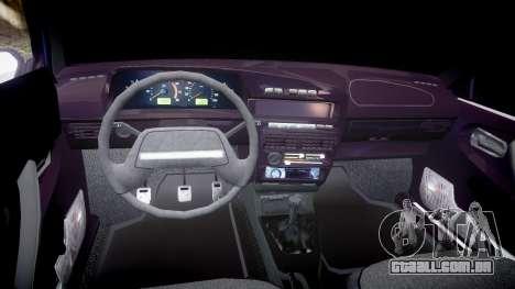 UTILIZANDO-Lada 2109 1500i para GTA 4 vista de volta