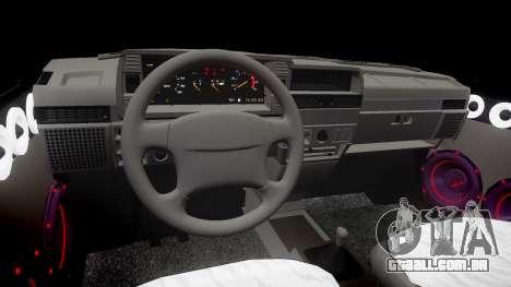 VAZ-2109 Nove para GTA 4 vista interior