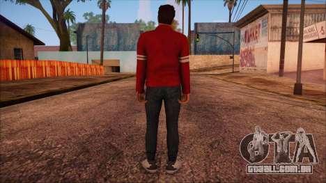 GTA 5 Online Skin 13 para GTA San Andreas segunda tela