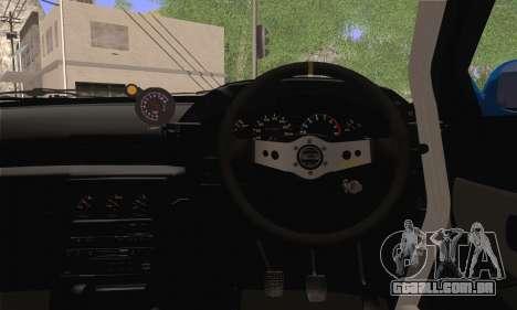 Nissan GT-R32 para GTA San Andreas traseira esquerda vista