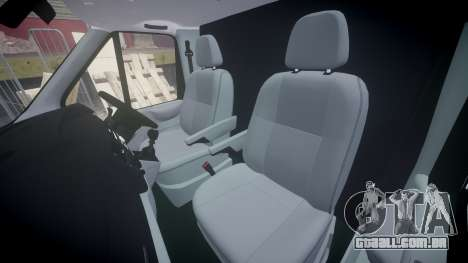 Ford Transit 2011 SuperSportVan para GTA 4 vista interior