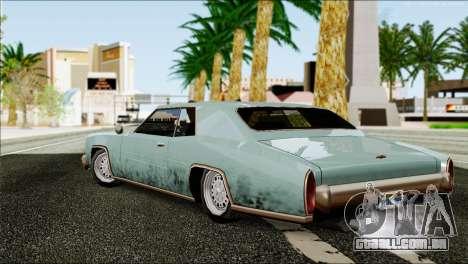 ENB Series HD v2 fracas e médias PC para GTA San Andreas sexta tela