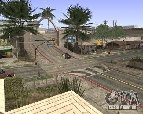 Textura Los Santos de GTA 5 para GTA San Andreas segunda tela