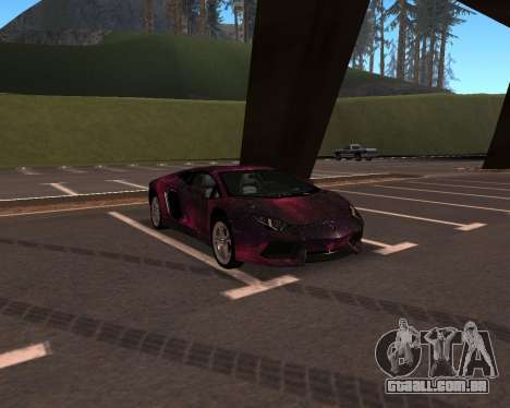 Lamborghini Aventador para GTA San Andreas