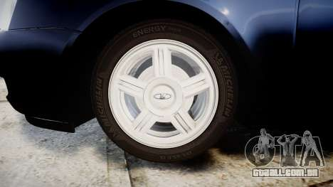 ВАЗ-2170 Lada Priora estoque para GTA 4 vista de volta