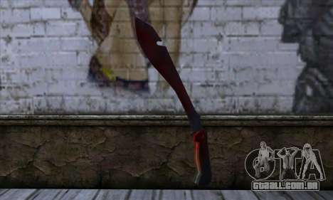Bloody Machete from Far Cry para GTA San Andreas