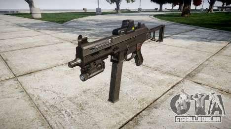 Alemão submetralhadora HK UMP 45-alvo para GTA 4