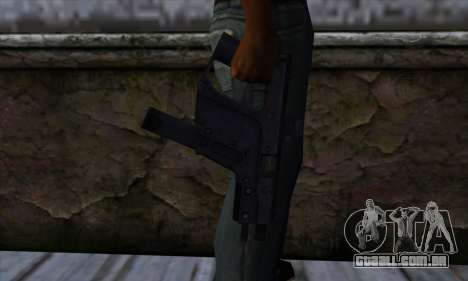 Tec9 from State of Decay para GTA San Andreas terceira tela