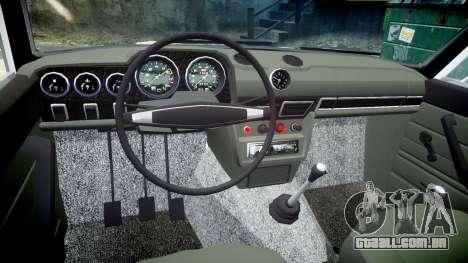 VAZ-2106 aquário para GTA 4 vista de volta