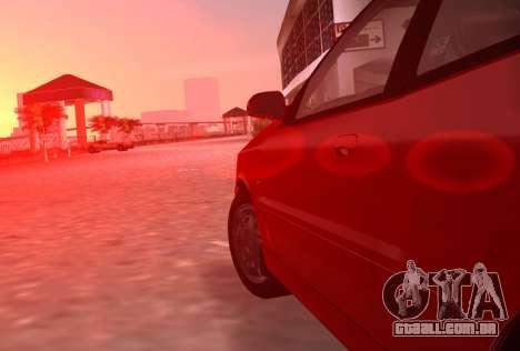 Daewoo Lanos Esporte EUA 2001 para GTA Vice City vista lateral