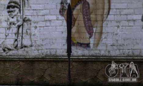 Unnamed Sword para GTA San Andreas