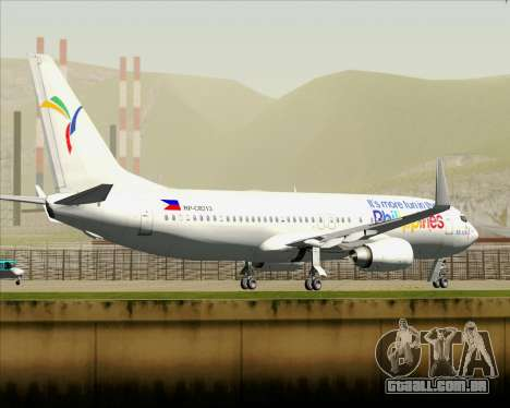 Boeing 737-800 South East Asian Airlines (SEAIR) para as rodas de GTA San Andreas