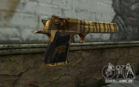 Desert Eagle Gold v1 para GTA San Andreas segunda tela
