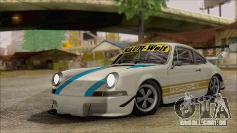 Porsche 911 Carrera 1973 Tunable KIT C para GTA San Andreas vista traseira