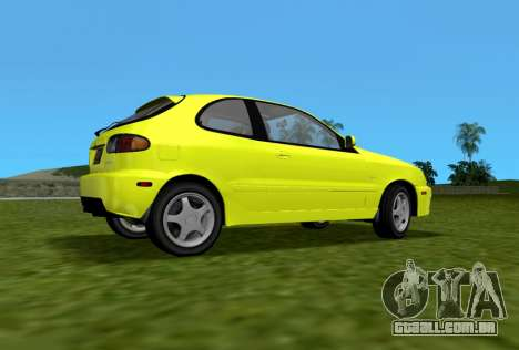Daewoo Lanos Esporte EUA 2001 para GTA Vice City deixou vista