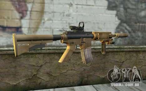 M4A1 Sopmod para GTA San Andreas segunda tela
