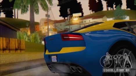 GTA 5 Lampadati Furore GT (IVF) para GTA San Andreas vista direita