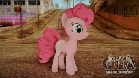 Pinkie Pie from My Little Pony para GTA San Andreas