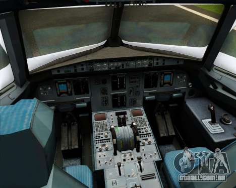 Airbus A320-200 Cebu Pacific Air para GTA San Andreas interior