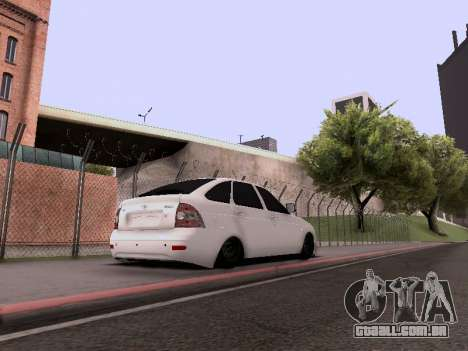 VAZ 2172 para vista lateral GTA San Andreas