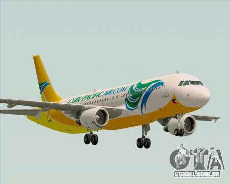Airbus A320-200 Cebu Pacific Air para GTA San Andreas