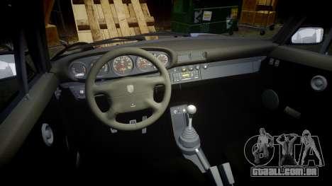 Porsche 911 (964) Coupe Razval para GTA 4 vista interior