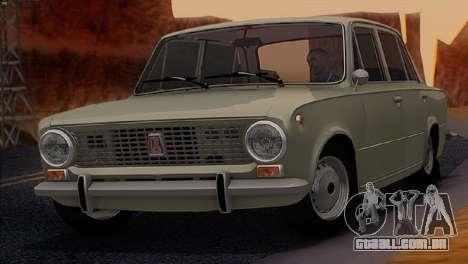 ВАЗ 2101 Estoque final v3.0 para GTA San Andreas