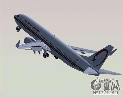 Boeing 737-8B6 Royal Air Maroc (RAM) para GTA San Andreas