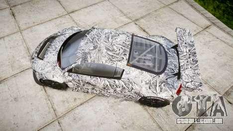 Audi R8 LMS Sharpie para GTA 4 vista direita