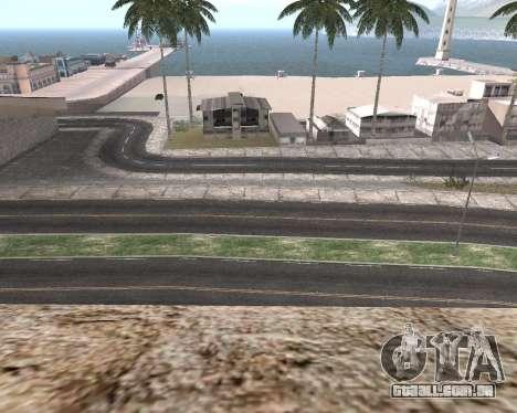 Textura Los Santos de GTA 5 para GTA San Andreas oitavo tela