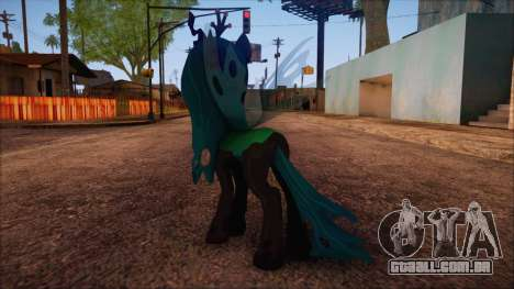 Chrysalis from My Little Pony para GTA San Andreas segunda tela