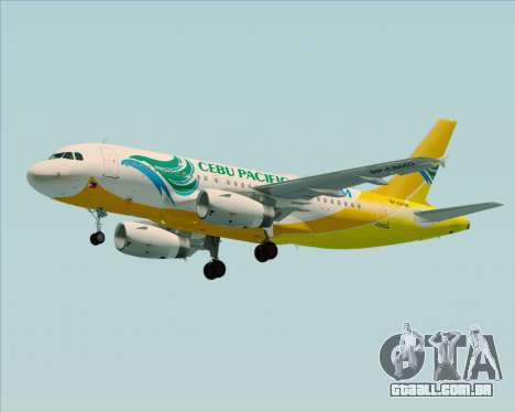 Airbus A319-100 Cebu Pacific Air para o motor de GTA San Andreas