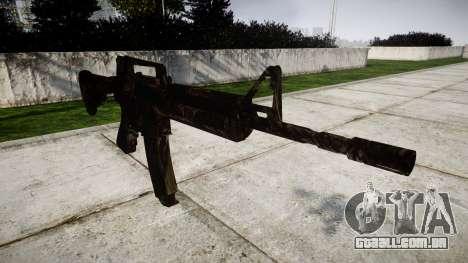 A carabina M4 CQB para GTA 4