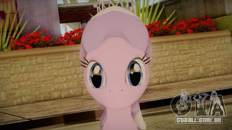 Diamond Tiara from My Little Pony para GTA San Andreas terceira tela