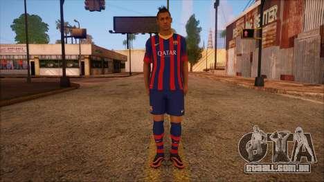 Neymar Skin para GTA San Andreas